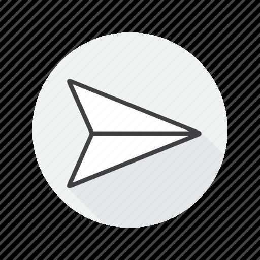 go, multimedia, send icon