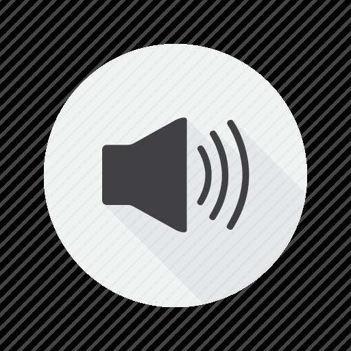 multimedia, speaker, volume icon