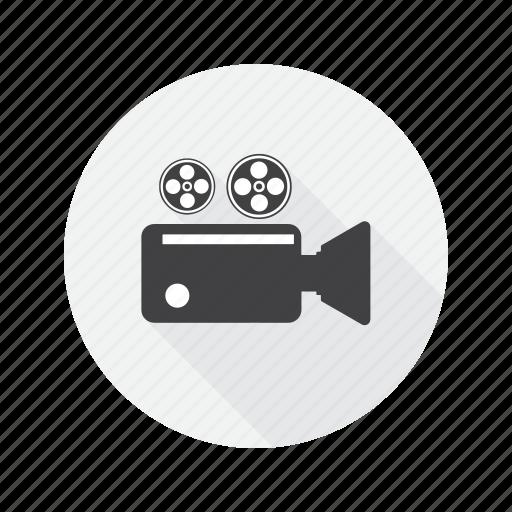 camera, multimedia, record, video icon
