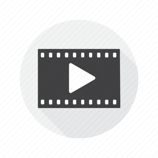 movies, multimedia, player, video icon