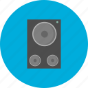 equipment, multimedia, object, sound, speaker, technology icon