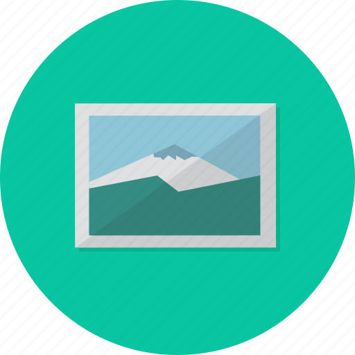 equipment, frame, gallery, image, multimedia, object, picture icon