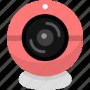 camera, monitor, tracking icon