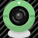 camera, monitors, tracking icon