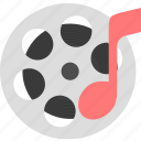film, movie, music icon