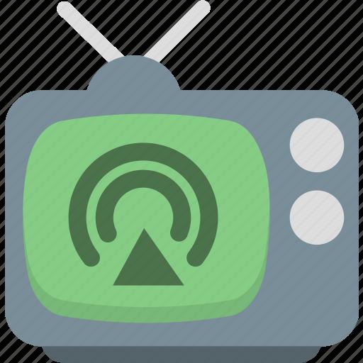 media, share, sharing, social, television, tv icon