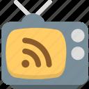 media, share, social, television, tv icon