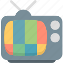 television, tv, tv station icon
