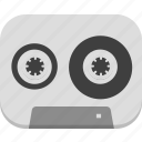 music, record, sound, tapes icon