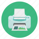 detailed, docuemnt, ink, inkjet, jet, mobile, multimedia, paper, print, printer, printers, technology icon