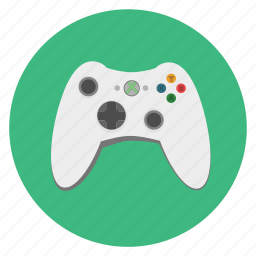 game, game pad, gamming, mobile, multimedia, pad, play, playstation, round, technology, xbox icon