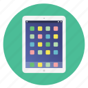 app, detailed, display, ipad, mobile, multimedia, pad, tablet, technology icon