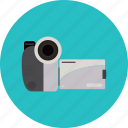 camcorder, camera, compact, movie, record, video, videocamera icon