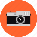 camera, classic, film, photo, photography, retro, vintage icon
