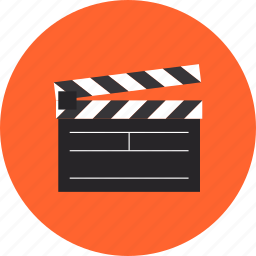 action, cinema, clap board, clapboard, clapper, film, movie, production, studio, video icon