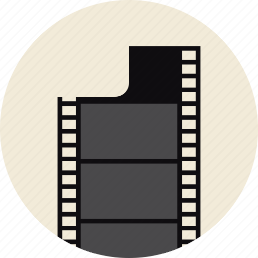 cinema, film, filmstrip, frame, photo, retro, strip icon