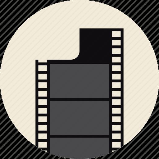 Cinema, film, filmstrip, frame, photo, retro, strip icon ...