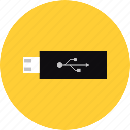 data, drive, file, flash, memory, storage, usb icon