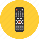 control, controller, device, infrared, remote, television, tv icon
