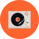 dj, electronics, mix, music, player, studio, turntable, vinyl icon
