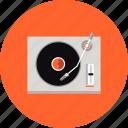 dj, electronics, mix, music, player, studio, turntable, vinyl icon