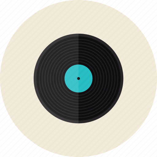 album, disc, disk, dj, music, record, soundtrack, studio, vinyl icon