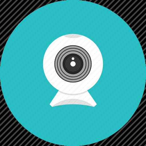cam, camera, conference, internet, security, surveillance, videochat, web, webcam icon