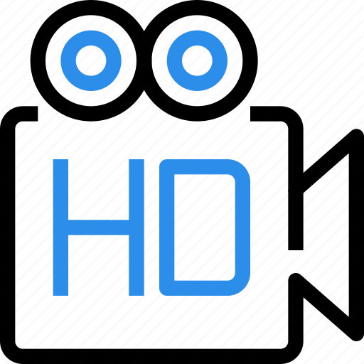 cam, camera, digital, hd, media, movie, video icon