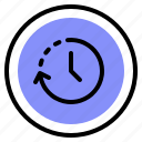 history, interface, stopwatch, timer icon