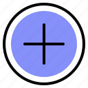 add, interface, media, plus icon
