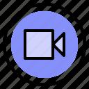 interface, media, play, video