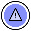error, interface, media, warning icon