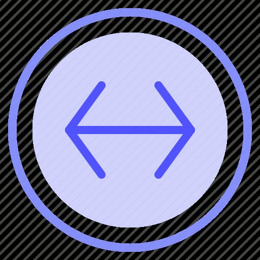 arrow, interface, left, media, right icon