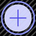 add, interface, plus, ui icon