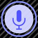 interface, media, record, speaker