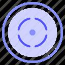 interface, media, record, video icon