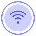 connection, interface, media, wifi icon