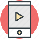 media, media player, mobile, mobile multimedia, multimedia icon
