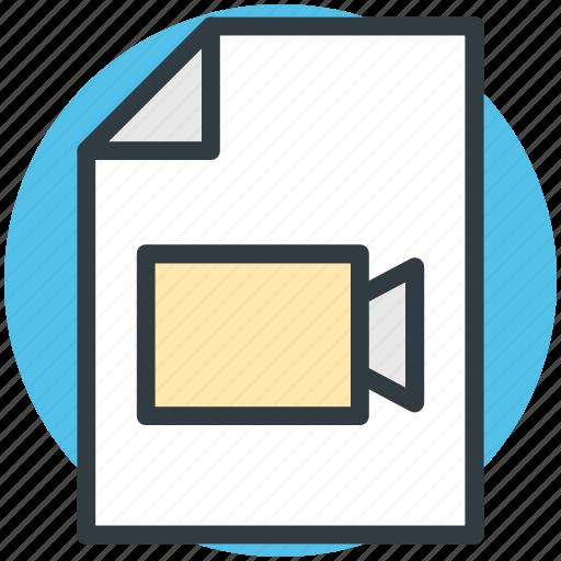 movie clip, movie collection, movie file, video clip, video file icon