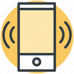 cell phone, incoming call, phone call, phone ringing, phone vibrating icon