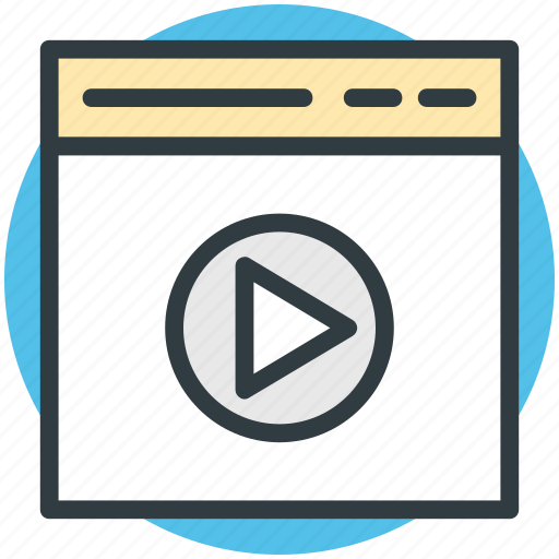 media, media player, multimedia, play video, video player icon