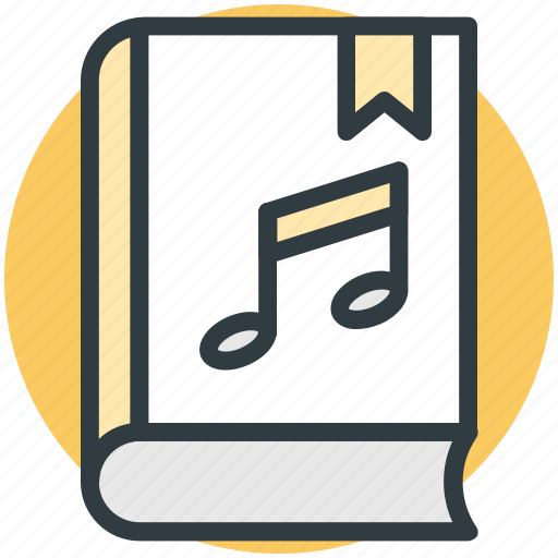audio lectures, audio literature, audiobook, ebook, music book icon