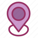 gps, location, map, navigation, pin, point, pointer