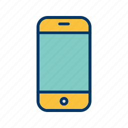 cell, mobile, phone, smart icon