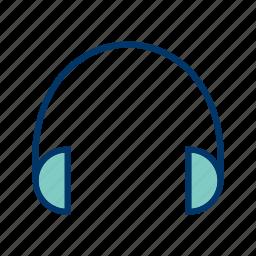 audio, head phone, headphone, headphones icon