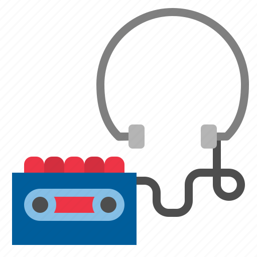 Headphone, headset, tape icon - Download on Iconfinder