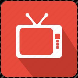 antenna, entertainment, film, movie, multimedia, set, tv icon