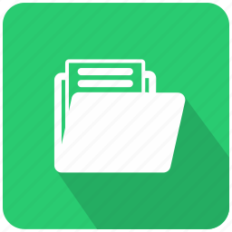 breafcase, brief, directory, document, file, folder, list folder icon