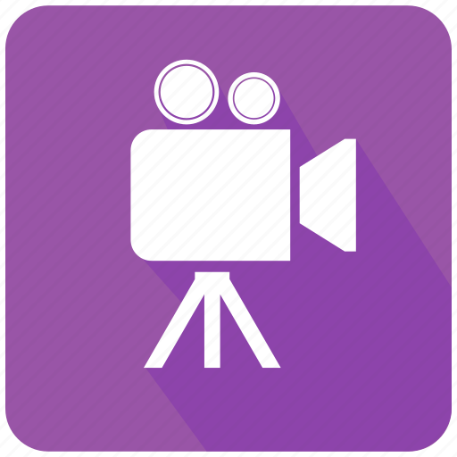 camcorder, camera, clip, director, film, movie, video icon