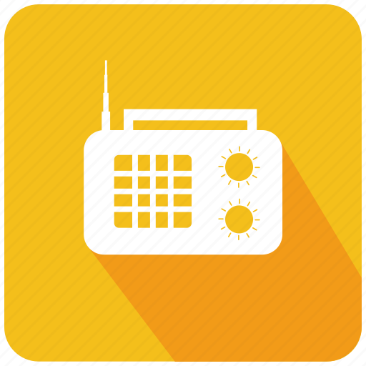 antenna, music, play, radio, receiver, songs, wireless icon